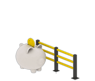 Boplan Nutzen lange Lebensspanne + geringer Wartungsaufwand = Kosteneinsparung
