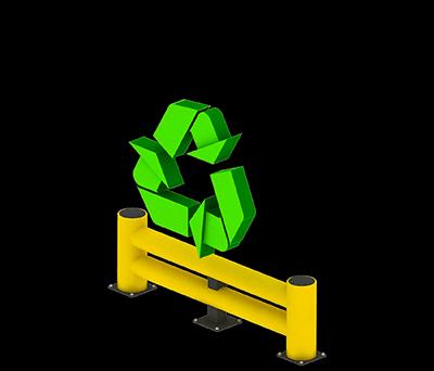 Boplan beneficio reciclable y la huella ecológica de baja