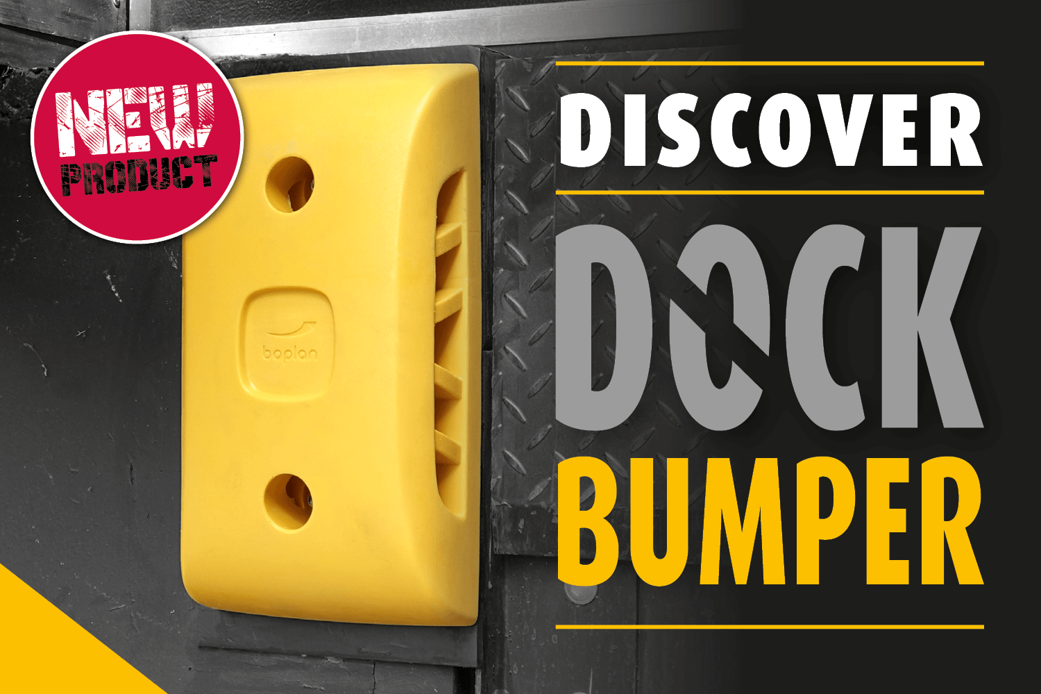 Dock Bumper, anticollision protection for loading docks