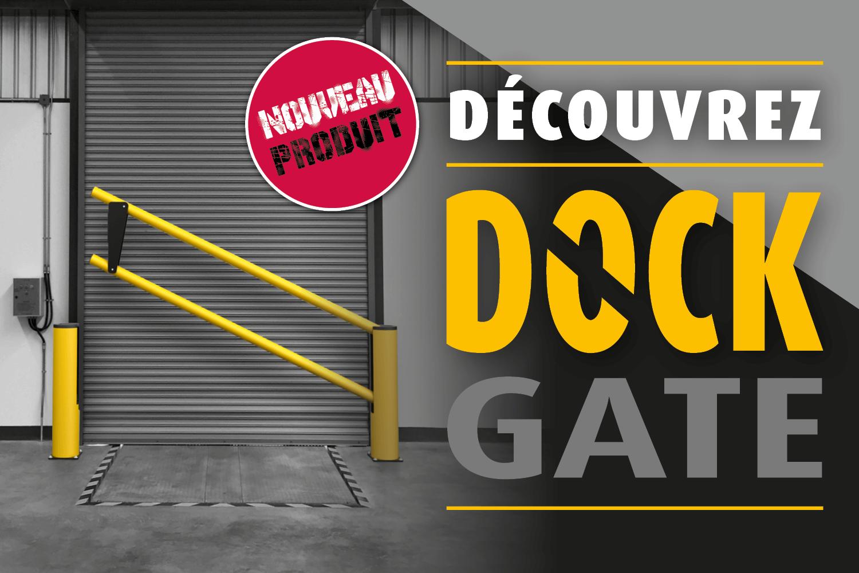 Dock Gate protection anticollision pour quaies de chargement