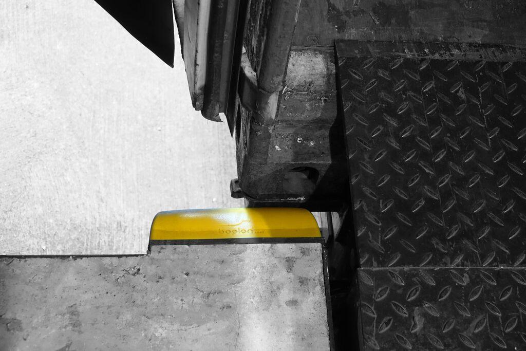 Dock bumper dock protection