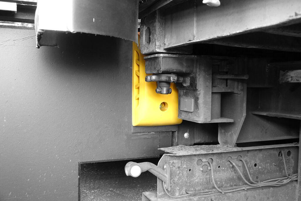 Dock bumper Laderampen-Sicherungssystem