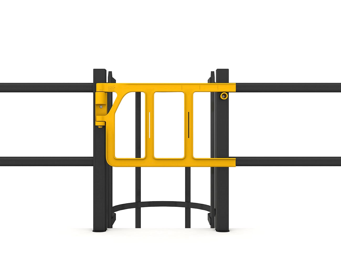 Doubel Axes Gate ladder cage