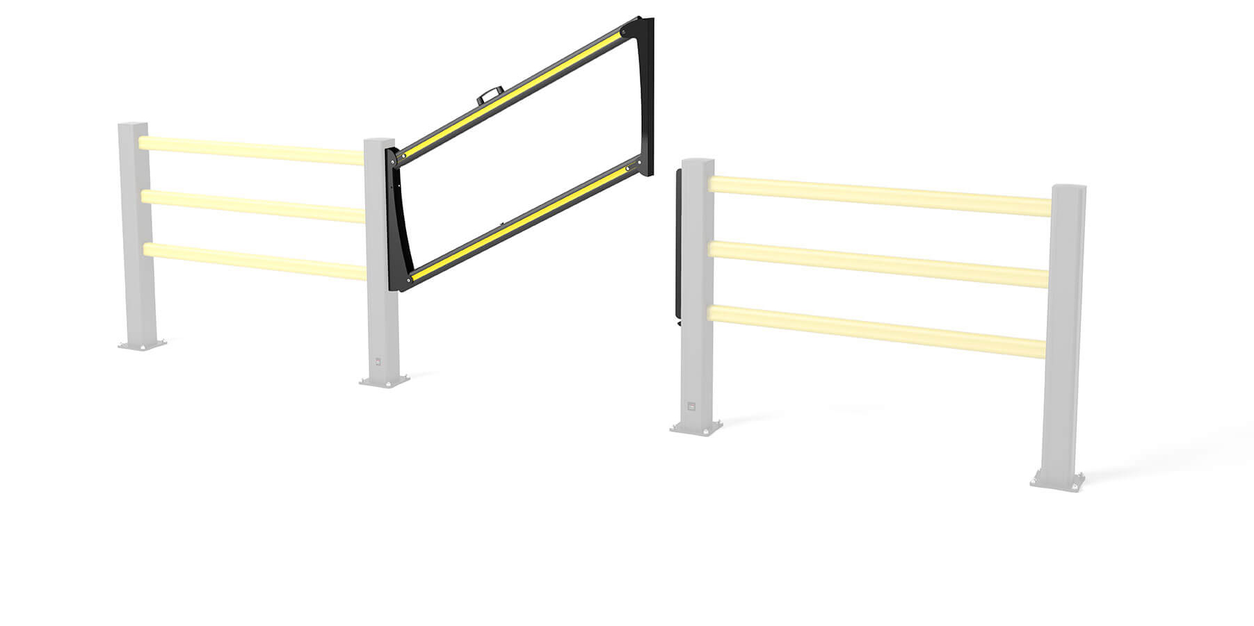 Flex Impact safety gate SG Drop Gate