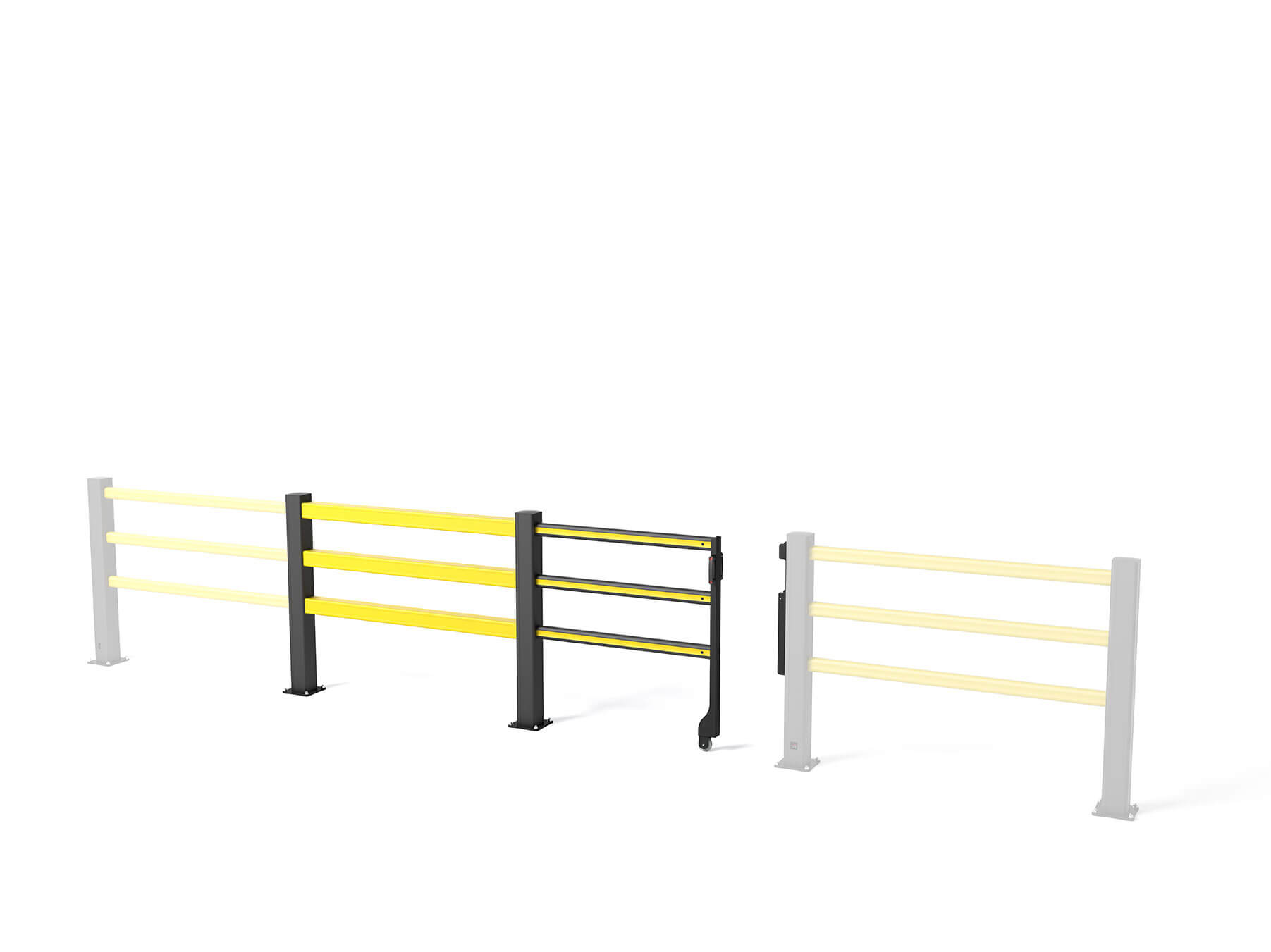 Flex Impact Safety Gate SG Sliding