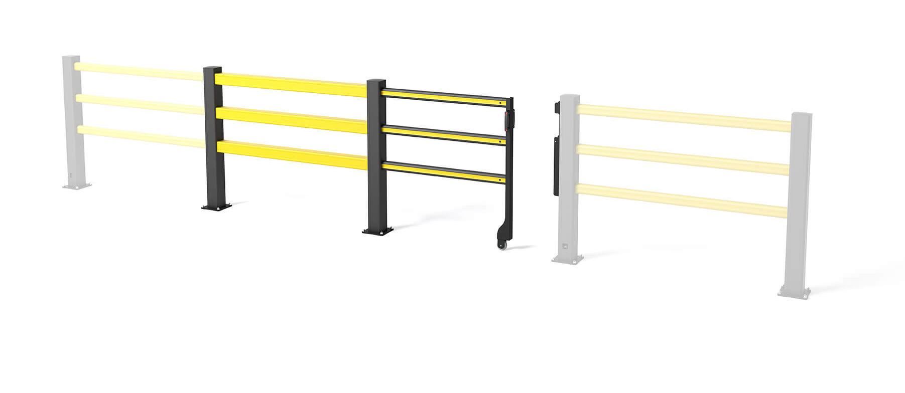 Flex Impact Safety Gate SG Sliding