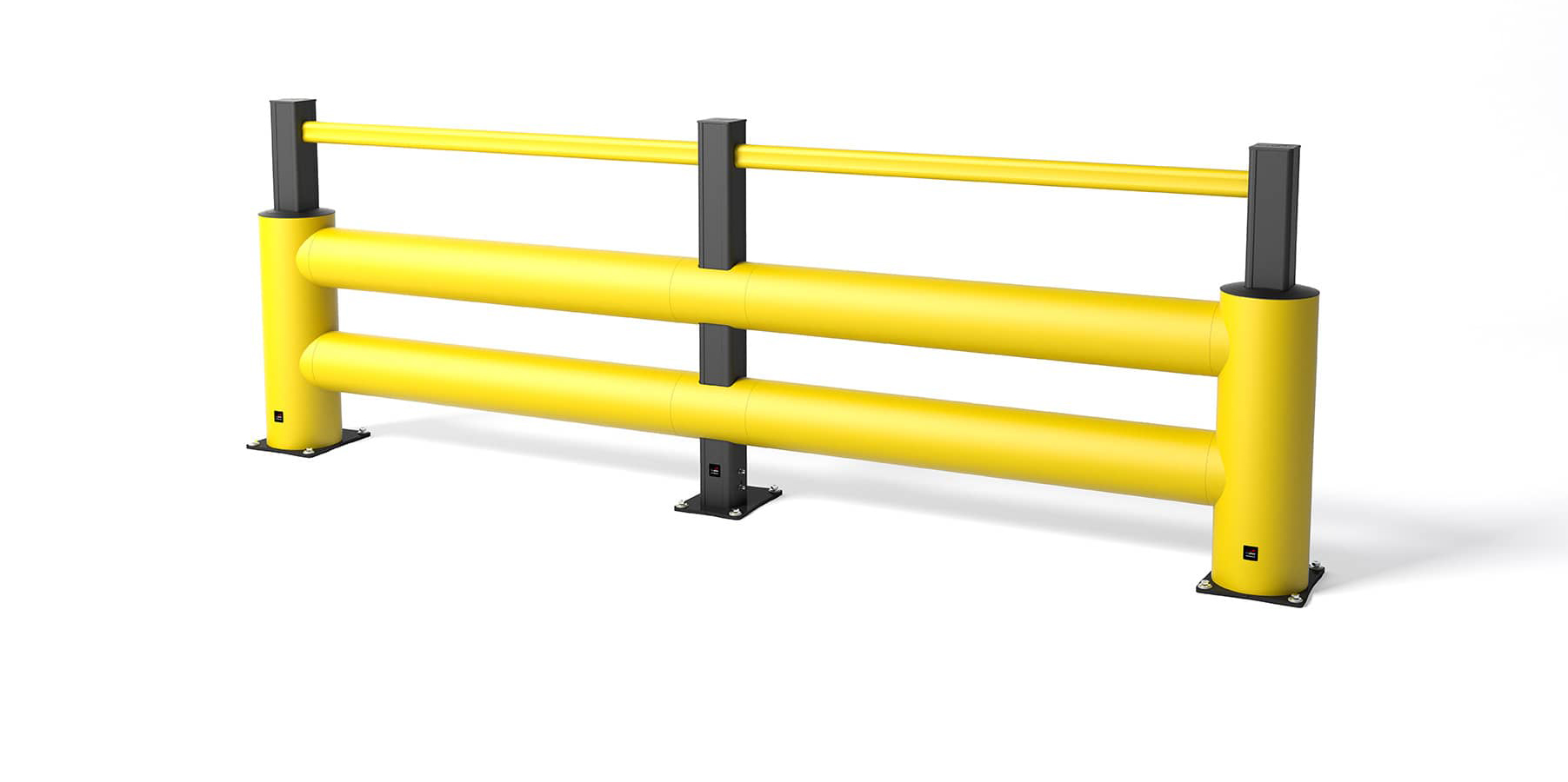 Safety barrier in flexible polymer TB 400 Double Plus