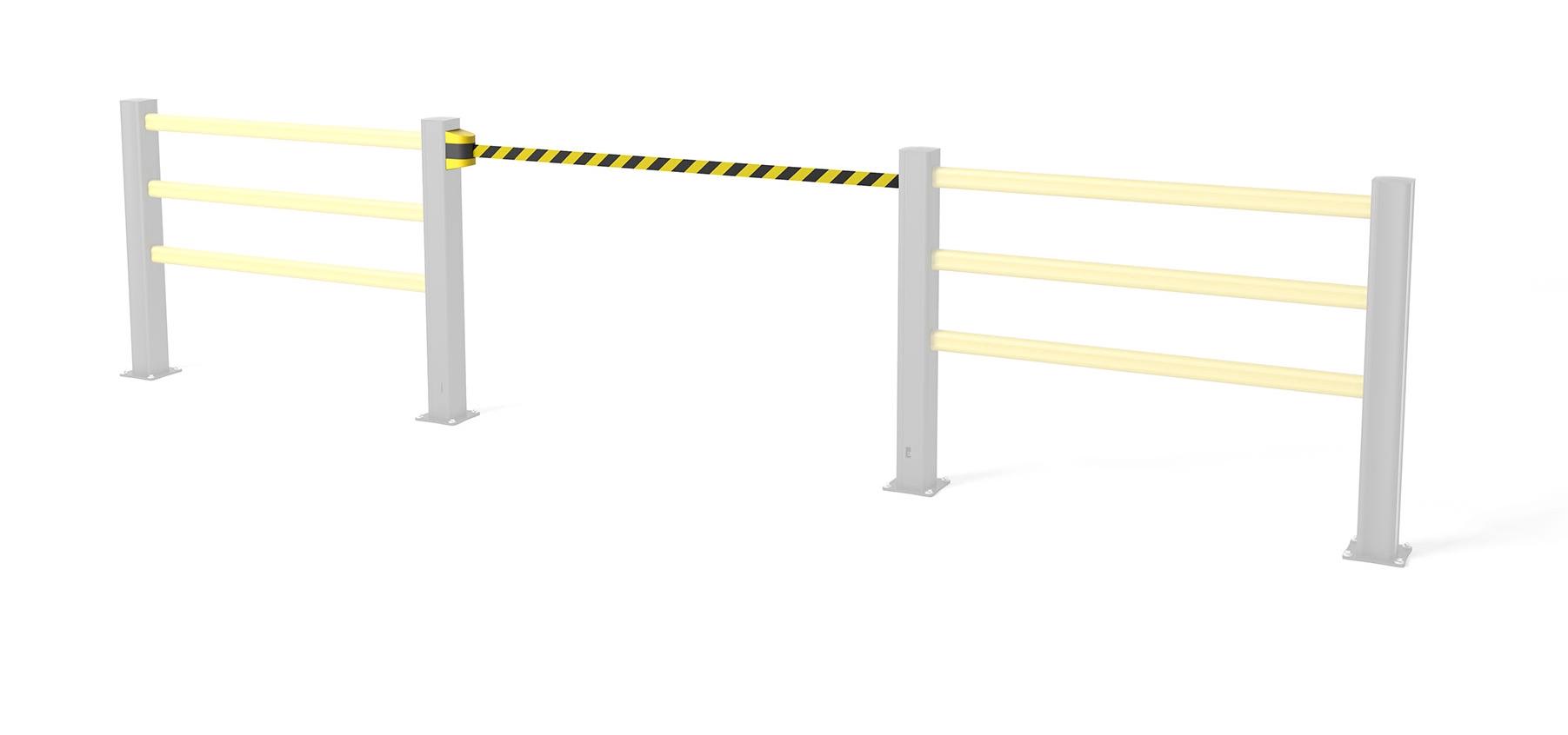 Safety gate BB Belt Barrier