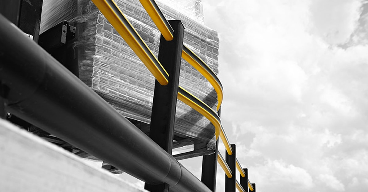 Flex Impact - Flexible safety barrier demonstration