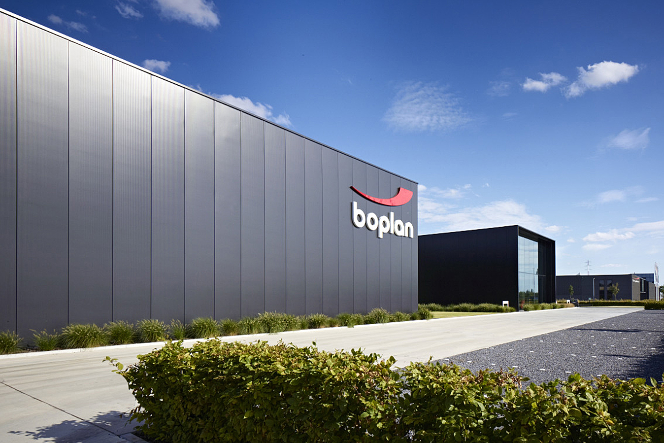 Boplan head office and factory building