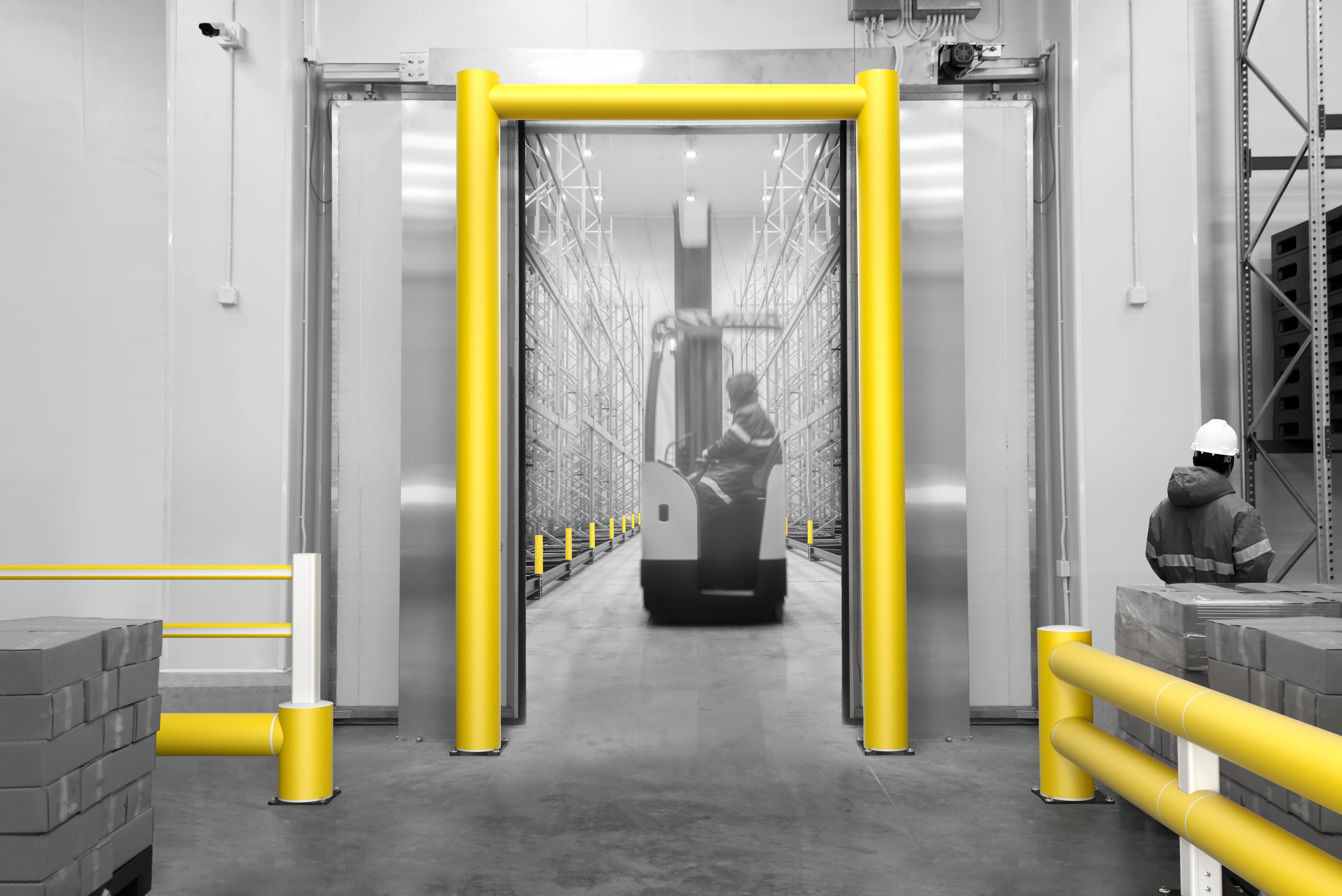 hangar-frigorifique-collision-protection