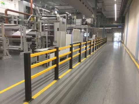 Fußwegtrennung HP Plus Produktion