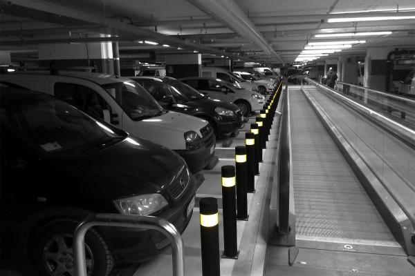 Aanrijdbeveiliging parking