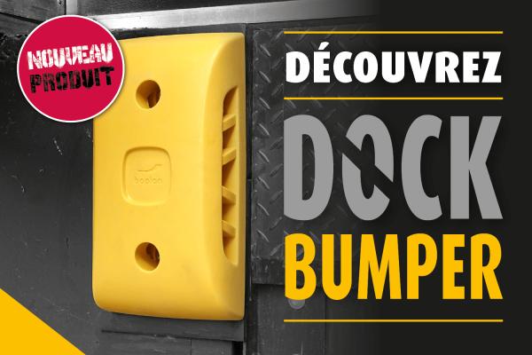 Dock Bumper, protection anticollision pour quaies de chargement