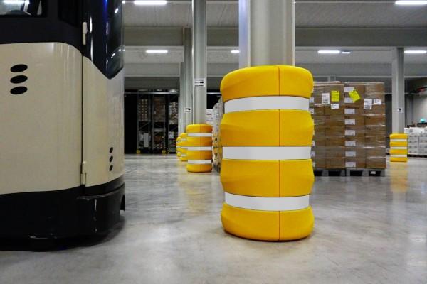 ICE FLEX Anfahrschutz für industrielle Tiefkühlhallen