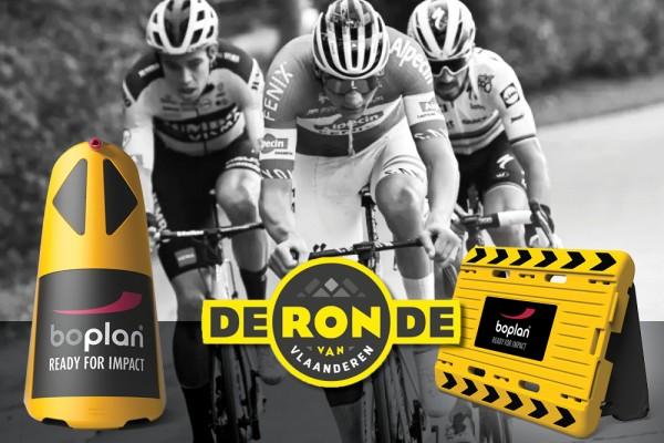 Boplan veiligheidsoplossingen op de Ronde van Vlaanderen