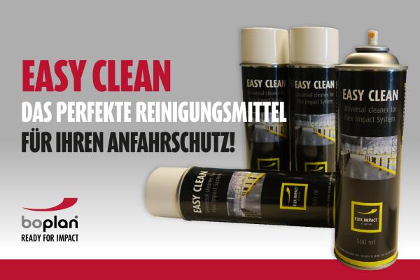Reinigungsmittel für Ihren Anfahrschutz