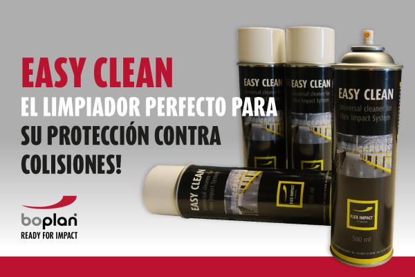 limpiador protección contra colisiones
