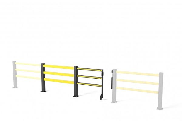 Veiligheidspoort met glijdeur SG Sliding