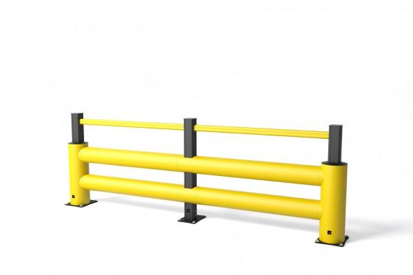 Aanrijdbeveiliging in flexibele polymeer TB 400 Double Plus