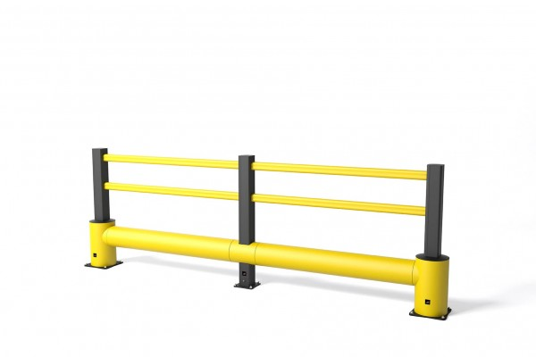 Safety barrier in flexible polymer TB 400 Plus