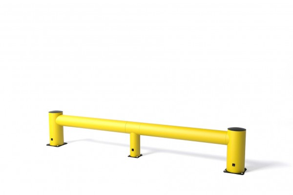 Safety barrier in flexible polymer TB 550