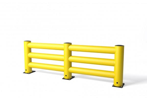 Barrière de circulation en polymère flexible TB Super Triple