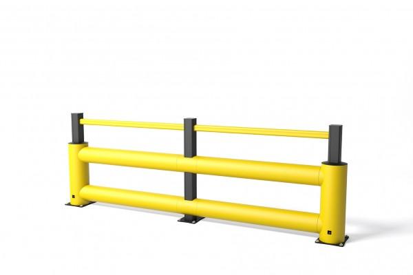 Aanrijdbeveiliging in flexibele polymeer TB 260 Double Plus