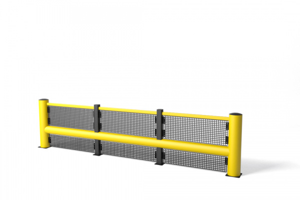 Safety barrier in flexible polymer TB 550 Plus Fence
