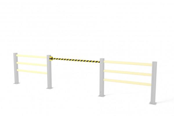 Flex Impact veiligheidspoort BB Belt Barrier