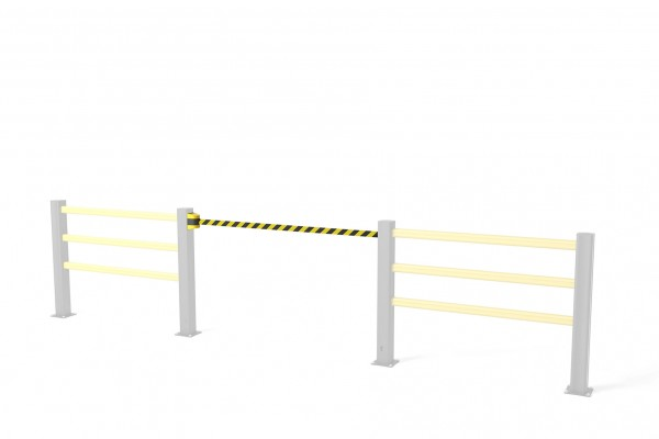 Flex Impact barrière à sangle BB Belt Barrier