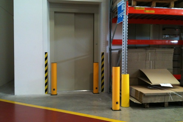 Flexible Protective Posts Application