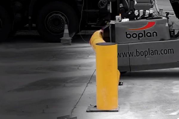 Flexible Safety Barriers Crash Test