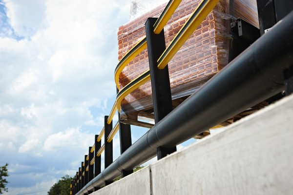 Boplan Flex Impact traffic barrier
