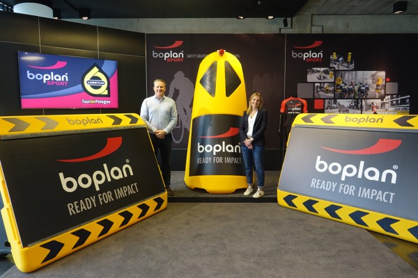 BOPLAN NOWY PARTNER WYŚCIGU TOUR DE POLOGNE