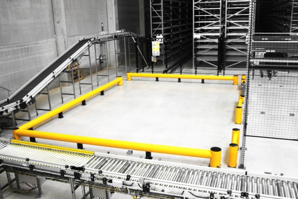 Yellow Safety Barriers