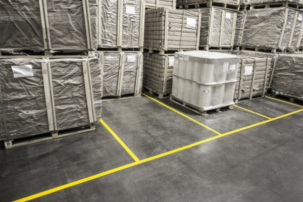Boplan Warehouse Line Plan Floortape