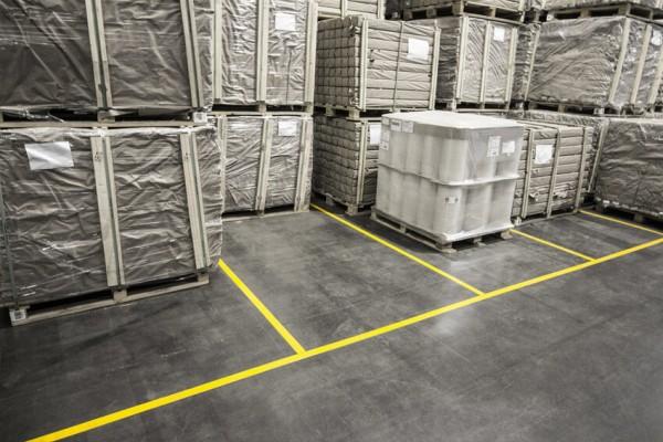 Boplan Warehouse Line Plan Floortape