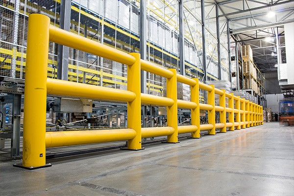 Boplan Flex Impact machine protection safety barrier