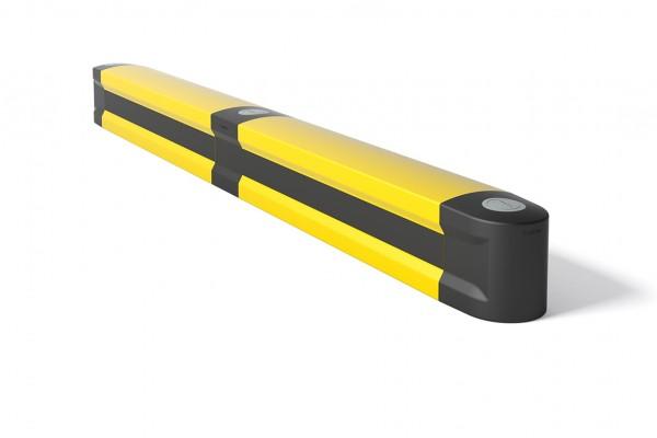 Kick rail in flexible polymer FLIP