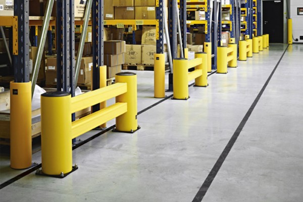 Rekbescherming voor een optimale magazijn beveiliging