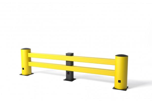 Schutz von Regalen RE Rack End mit Supportblock und rotor