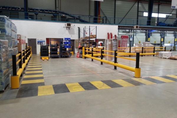 Protection d'un entrepôt logistique