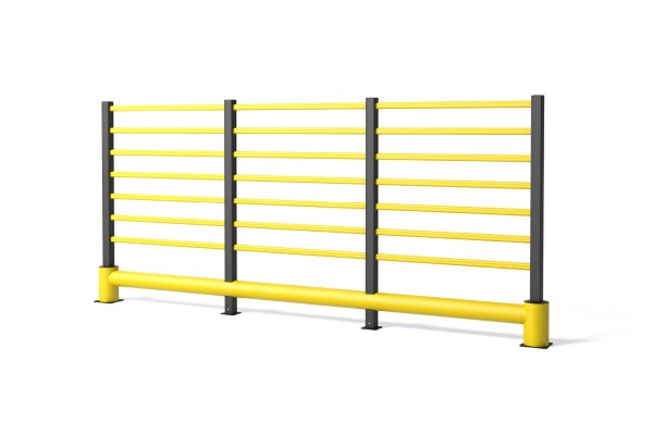 Safety barrier in flexible polymer TB 400 Grill