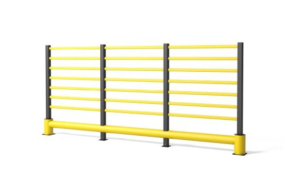Barrière de circulation en polymère flexible TB 400 Grill