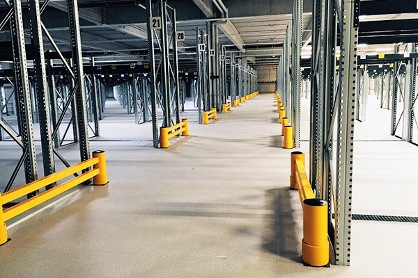 safety barriers warehouses, transport and logistics