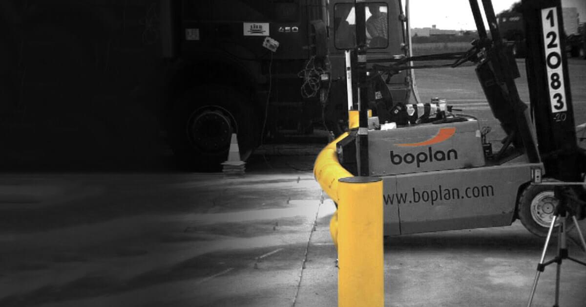 Flexible Safety Barrier - Flex Impact - Forklift Crash Demonstration