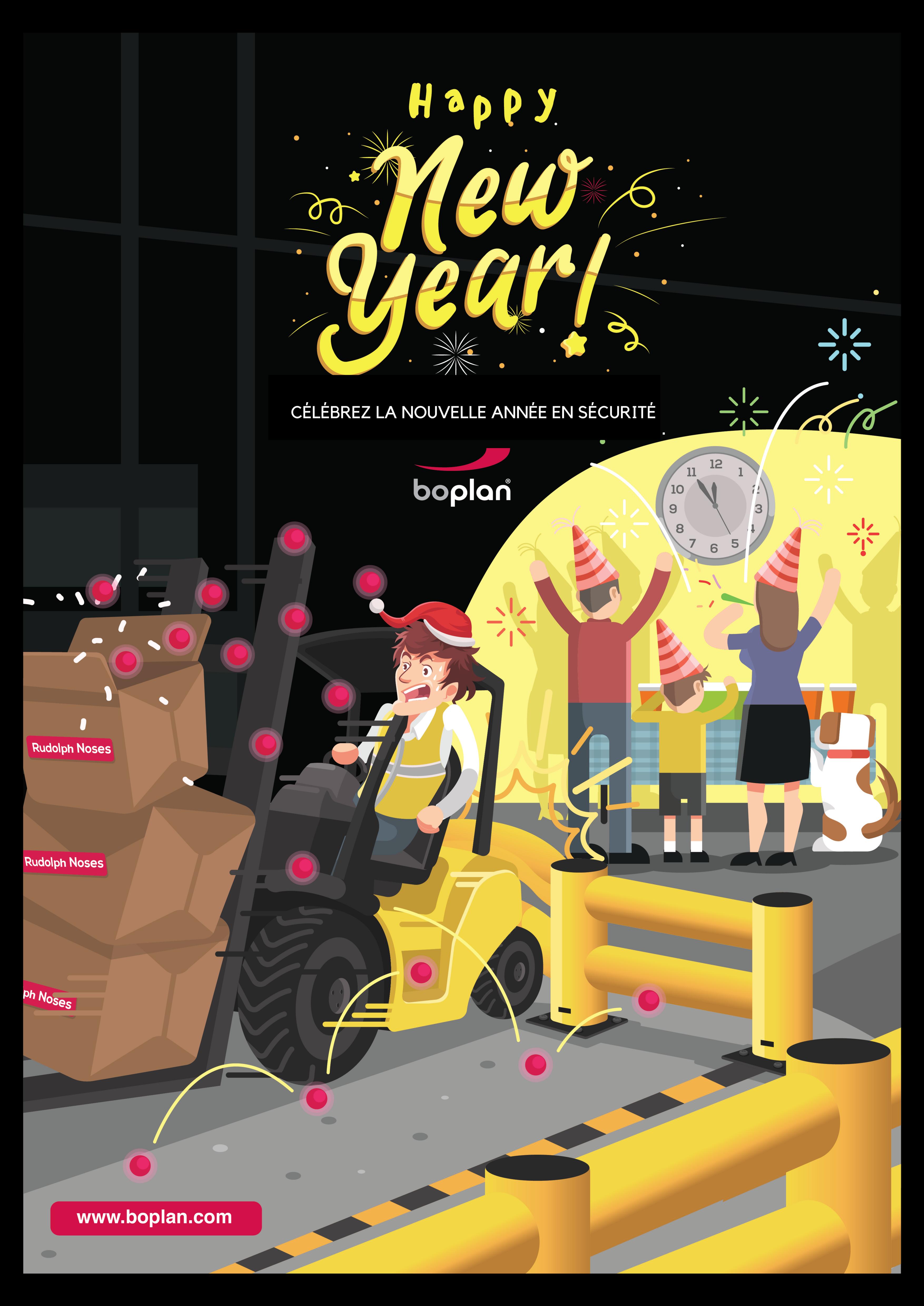 Boplan vous souhaite une bonne année 2018